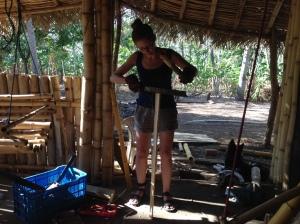 Raimey Gallant in Nicaragua