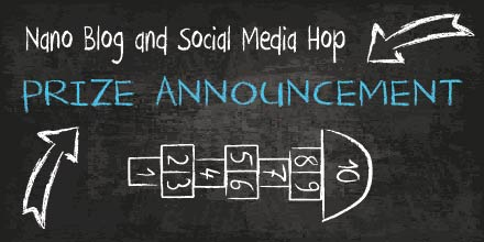 Nano Blog and Social Media Hop Prize Announcement