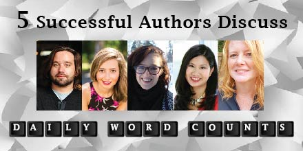 5 successful authors discuss daily word count goals