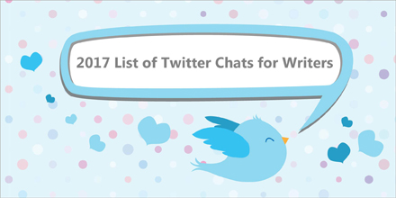 2017 List of Twitter Chats for Writers (latest new chat added Sep 2018)