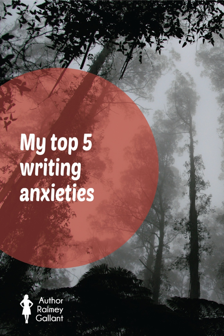 Are my top 5 writing anxieties the same as yours? #amwriting #amediting