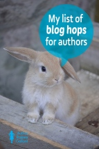My list of blog hops for authors #writercommunity #authorcommunity #writerslife