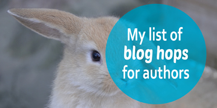 My list of blog hops for authors