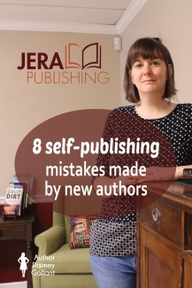 8 self-publishing mistakes made by new authors #amediting #bookmarketing #selfpublishing