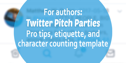 Twitter pitch parties: pro tips, etiquette, and character-counting template (#IWSG Blog Hop)