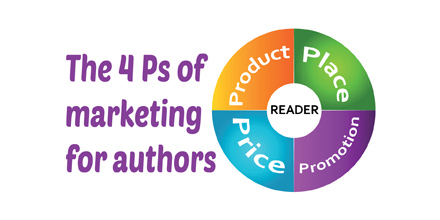 The 4 Ps of marketing for authors (#IWSG Blog Hop)