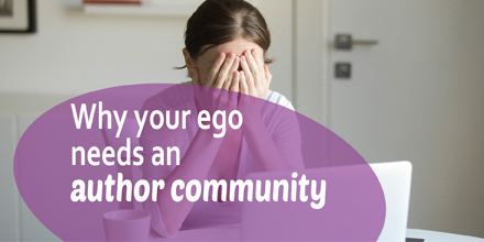 Why your ego needs an author community (#IWSG Blog Hop)