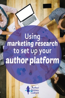 Using marketing research to set up your author platform