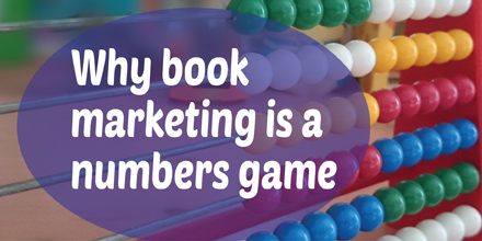 Why book marketing is a numbers game (#IWSG Blog Hop)