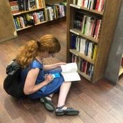Raimey Gallant making herself at home at McNally Jackson