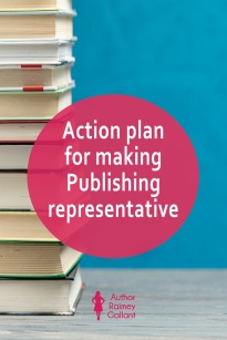 Action plan for making Publishing representative